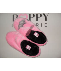 "POPPY ""CICÁS"" pink-fekete papucs"