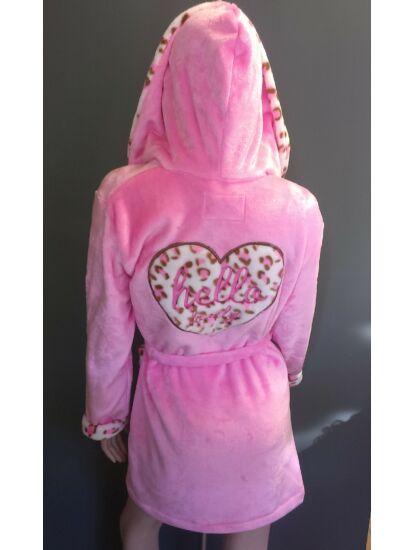 POPPY  DK Hello Lovely pink-pink ocelot -szív