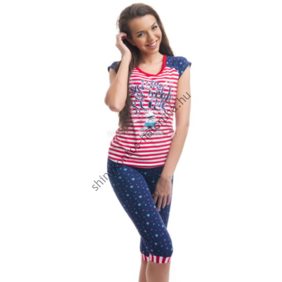 POPPY Funky Sailor High Seas 3/4-es pizsama