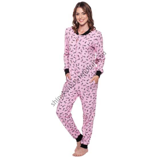POPPY Pez Minnie mintás pamut pizsama-overál