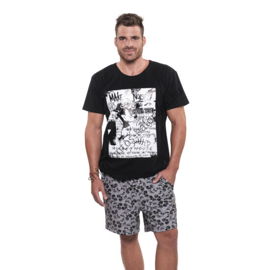 KÖNIG UV Alex Mickey férfi pizsama - rövid
