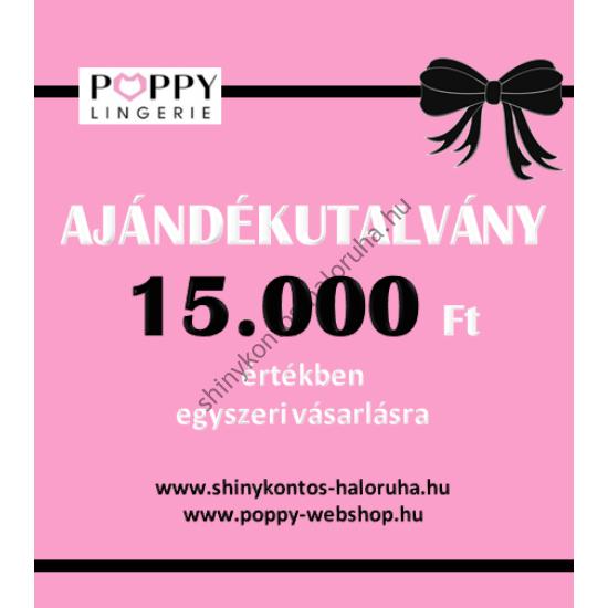 POPPY AJÁNDÉKUTALVÁNY 15.000Ft értékben