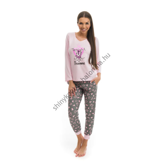 POPPY Chill Szíves mintás pizsama