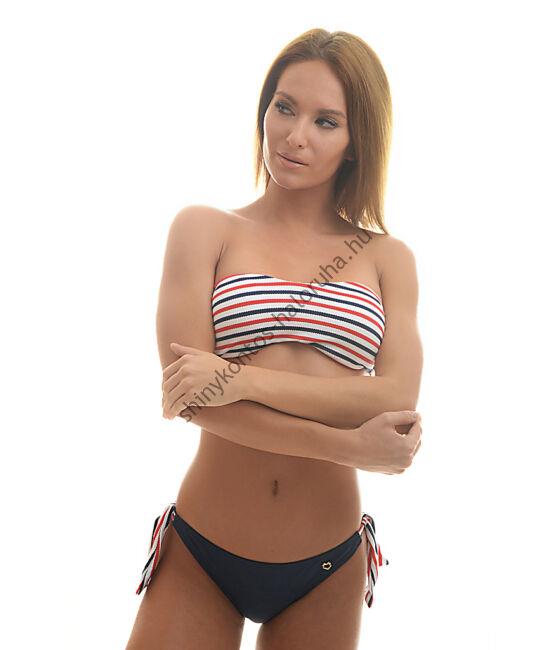 POPPY CIKLON Bikini, fürdőruha - DAYTONA (piros-fehér-kék csíkos)