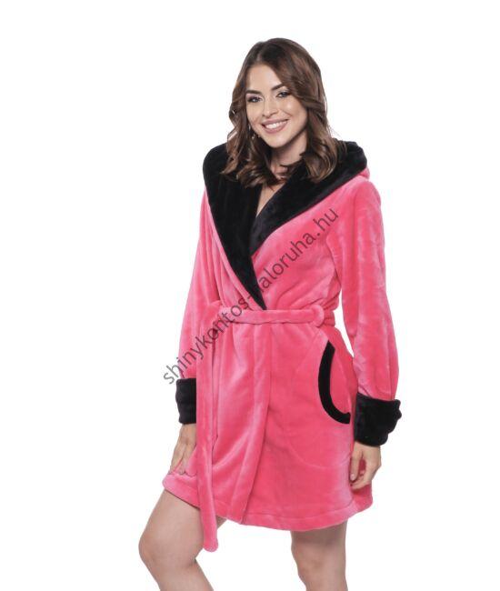 POPPY DK Poppy Girl köntös - UV pink-fekete