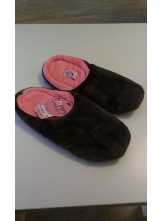 POPPY barna-lazac papucs