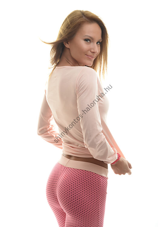 POPPY Belle UNIKORNIS pizsama barack-fekete-pink fc9e0bbd46