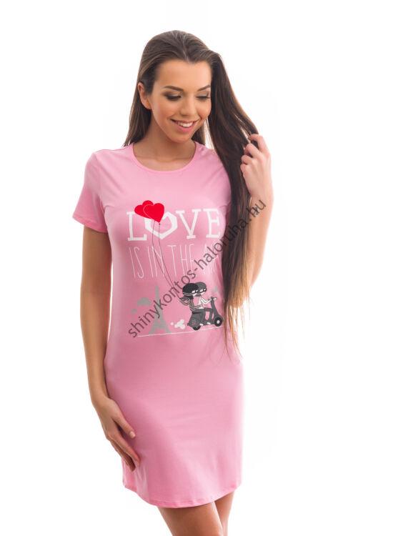 Poppy Begy Love Is In The Air Közép Pink Hálóing