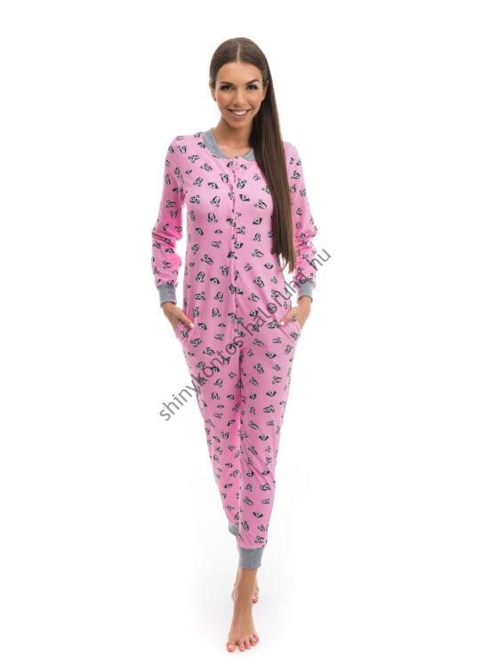 9b3142880 POPPY Pez Kutya mintás pamut pizsama-overál