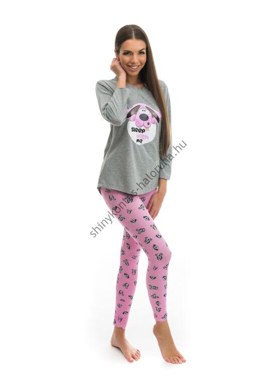 Poppy Madeline Kutya mintás Pizsama