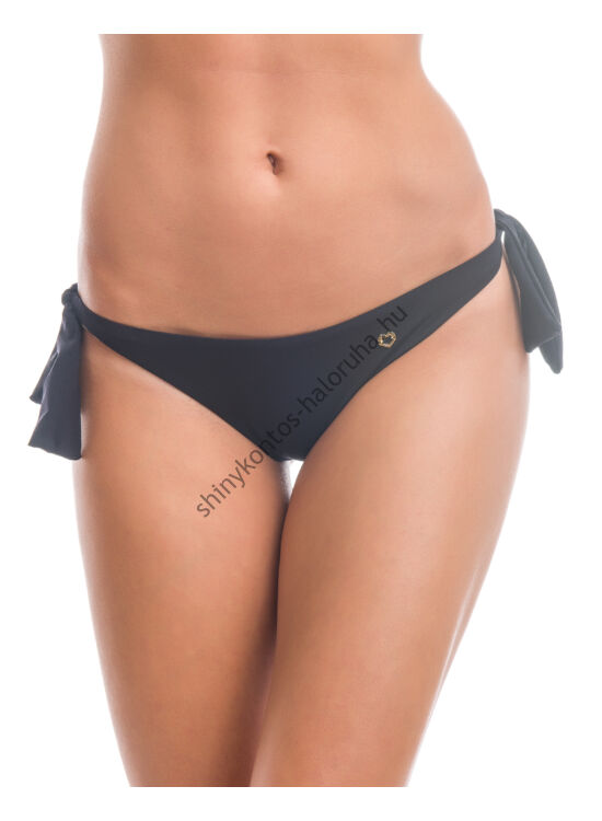 POPPY BRASIL Bikini alsó - FEKETE