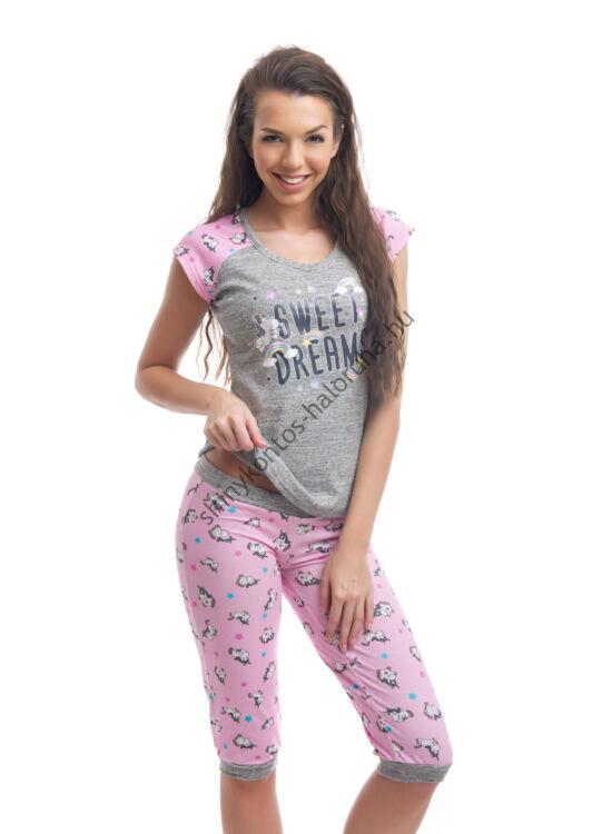 POPPY Funky Unikornis 3/4-es pizsama