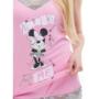Kép 3/5 - POPPY Gréti Minnie Amaze Me 2 részes trikó szett - K.PINK