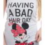 Kép 3/6 - POPPY Freaky Minnie Bad Bow 2 részes trikó szett - FEHÉR